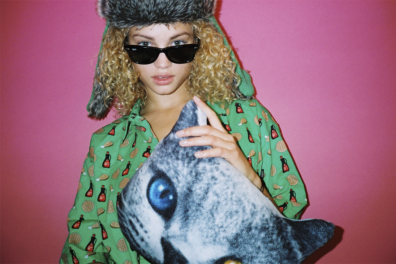 Image of Rose Bertram by Tyler, The Creator for Oyster Magazine Issue 104