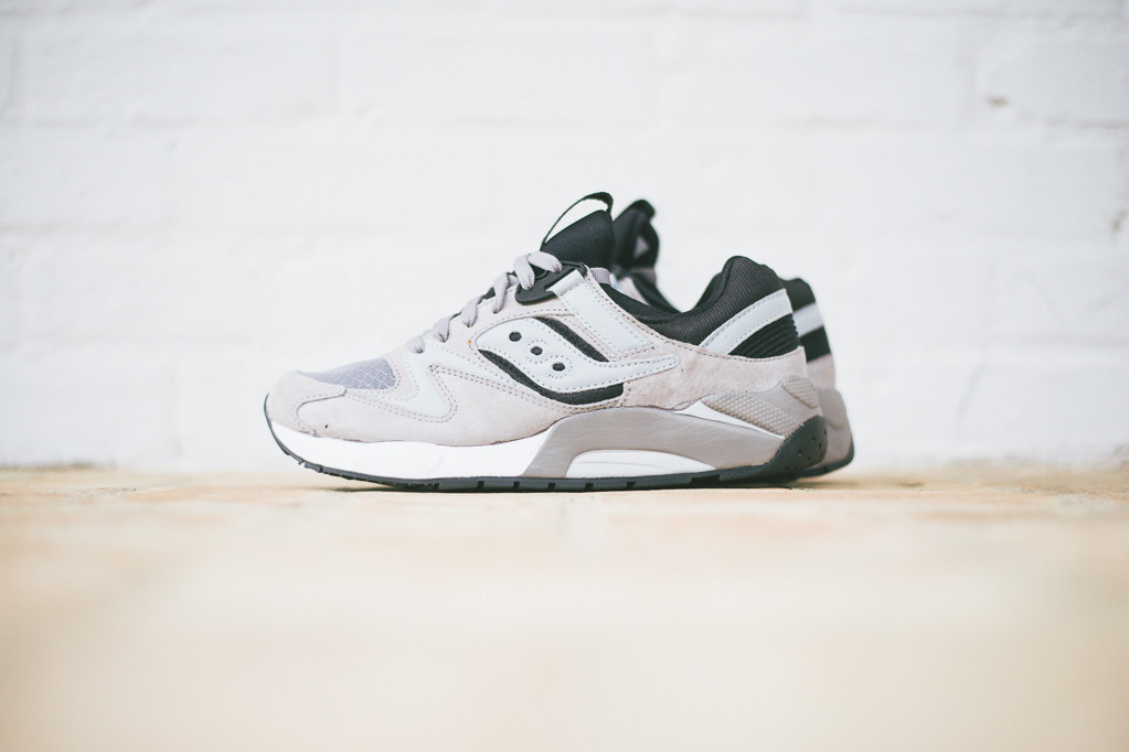 Image of Saucony Grid 9000 Grey/Black