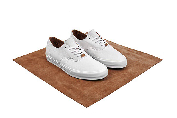"Image of Vans California ""Clean White"" size? Exclusive Collection"