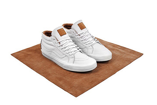 """Image of Vans California """"Clean White"""" size? Exclusive Collection"""