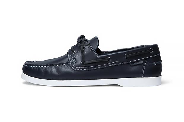 Image of SOPHNET. 2014 Spring/Summer Leather Deck Shoes