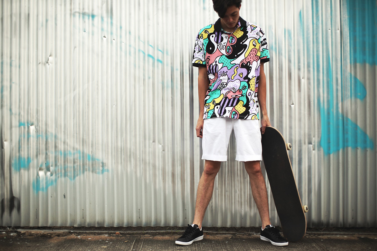 "Image of Staple 2014 Summer ""Paradise Lost"" Lookbook"
