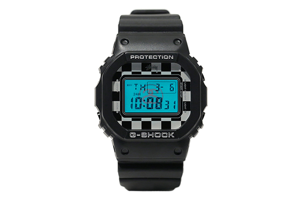 "Image of Stussy x Casio G-Shock DW-5600 ""Checker"""