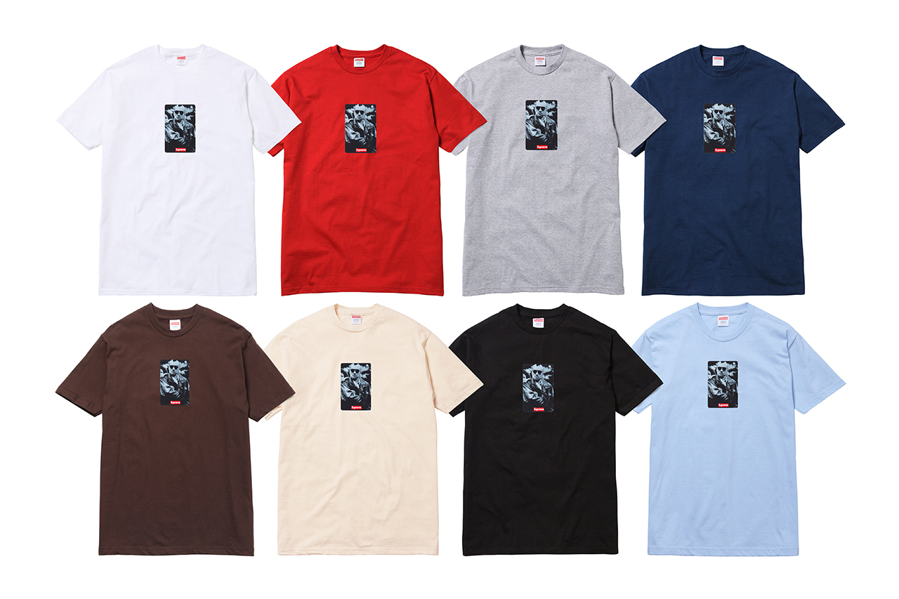 Image of Supreme 20th Anniversary Collection Featuring Box Logo and Taxi Driver T-Shirts