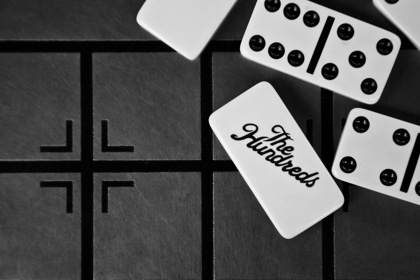 Image of The Hundreds 2014 Spring/Summer Black Dominoes Set