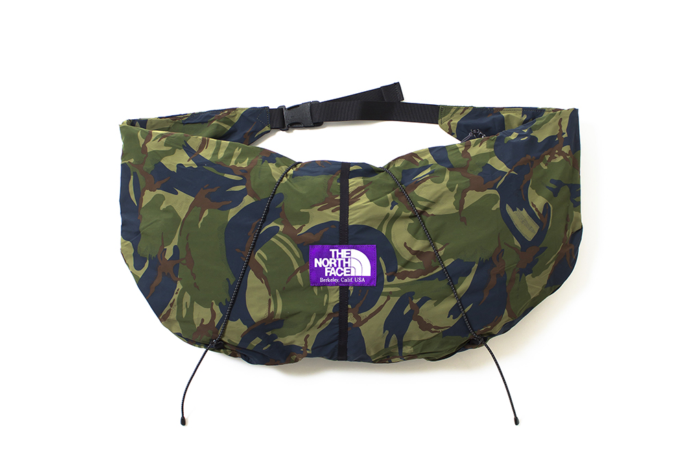Image of THE NORTH FACE PURPLE LABEL 2014 Spring/Summer Camouflage Bag Collection