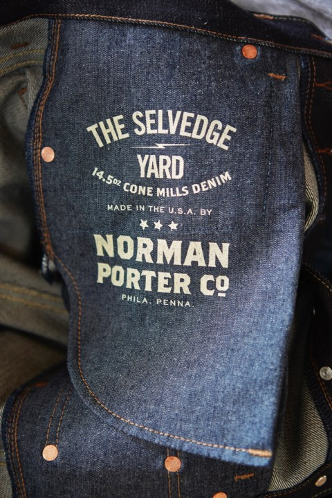 Image of Norman Porter x The Selvedge Yard Denim Jeans