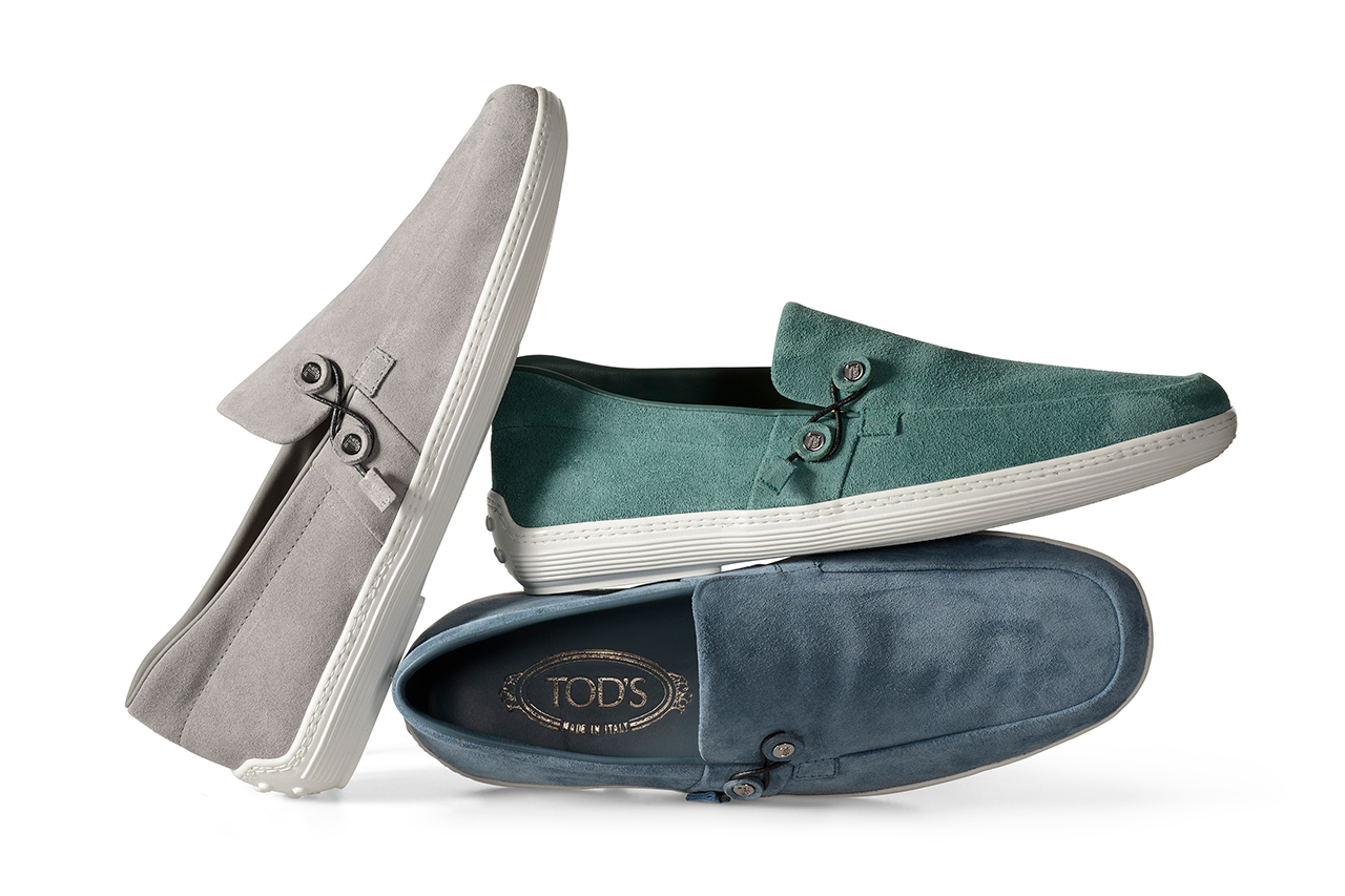Image of Tod's 2014 Spring/Summer Envelope Boat Shoes by Nendo