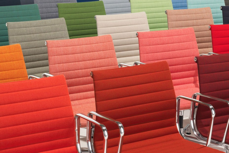 Image of Vitra Unveils Bold New Colors for Aluminum Eames Chair
