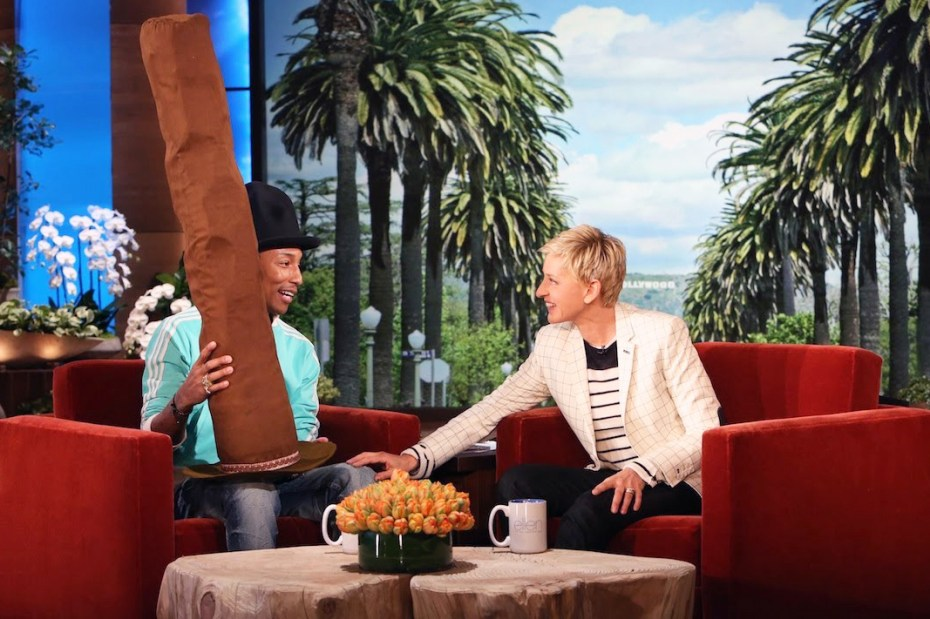Image of Watch Pharrell's Interview On 'The Ellen DeGeneres Show'