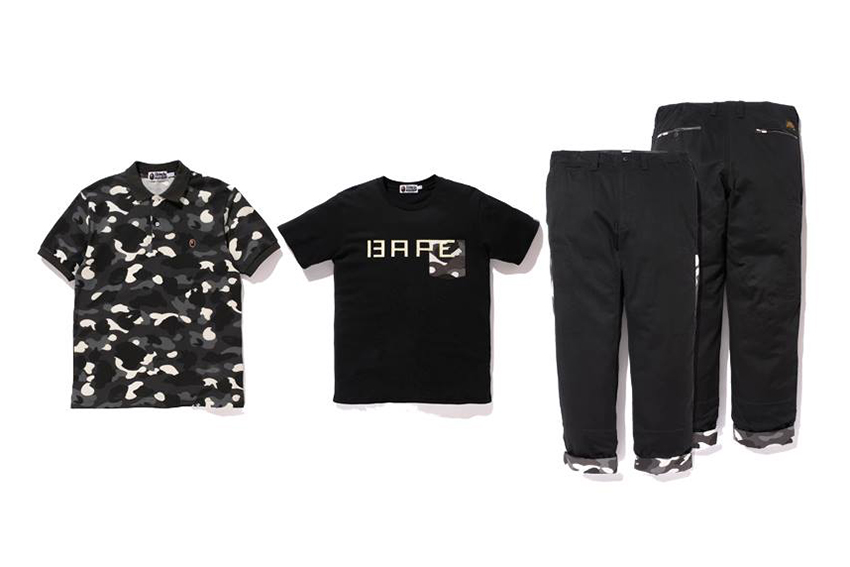 "Image of A Bathing Ape 2014 Spring/Summer ""CITY CAMO"" Collection"