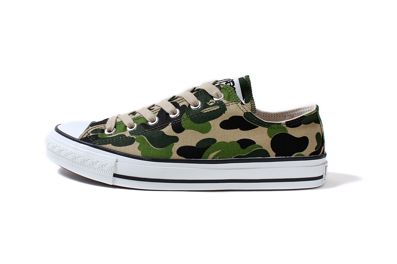 Image of A Bathing Ape ABC CANVAS APE STA LOW
