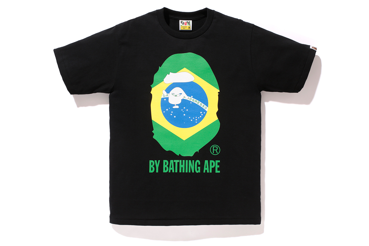 "Image of A Bathing Ape for ZOZOTOWN 2014 ""BAPE SOCCER"" Collection"