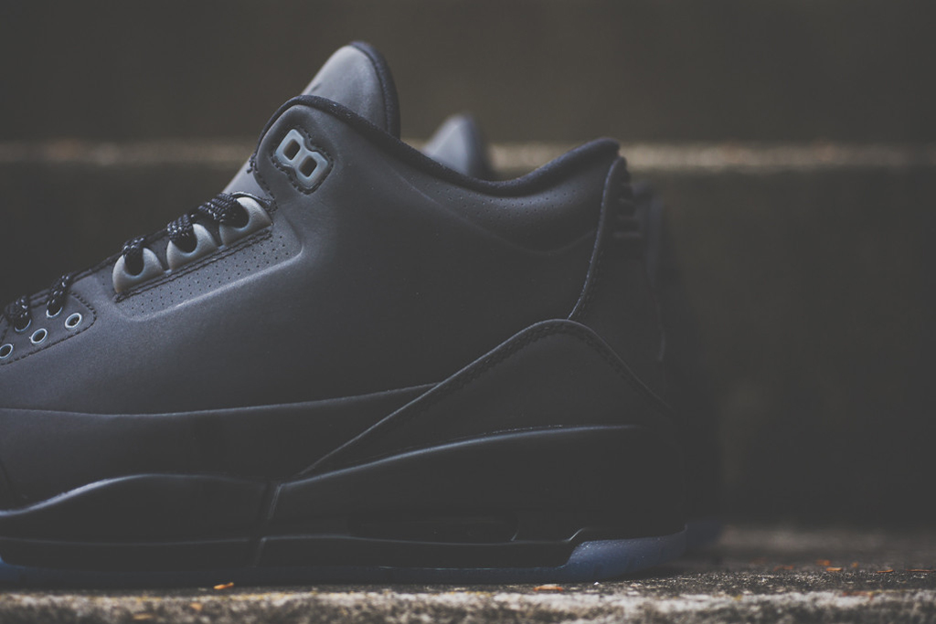 Image of A Closer Look at the Air Jordan 5Lab3 Black 3M
