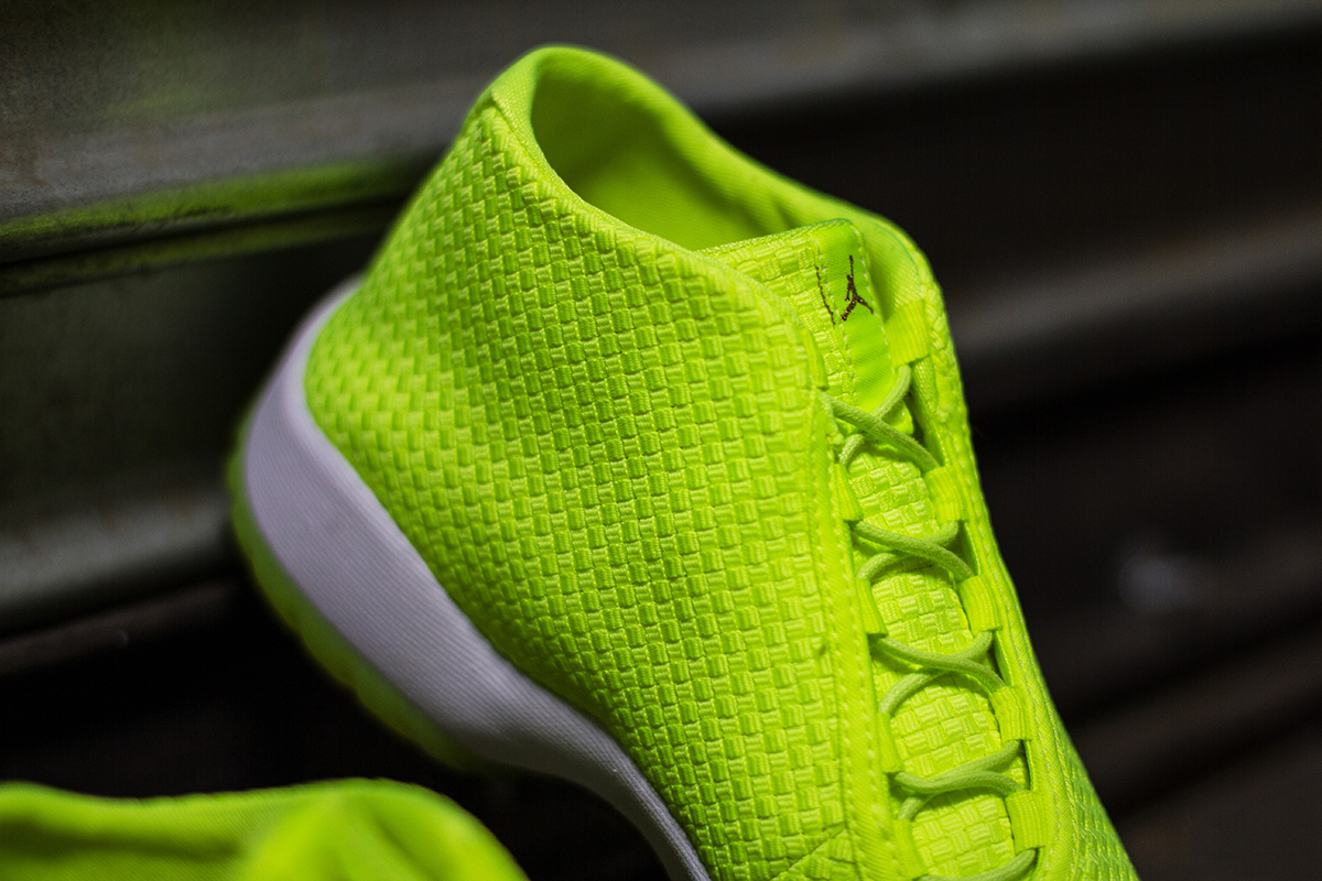 "Image of A Closer Look at the Air Jordan Future ""Volt"""