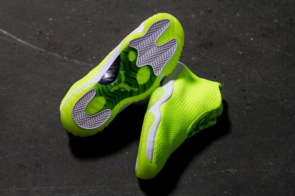 """Image of A Closer Look at the Air Jordan Future """"Volt"""""""