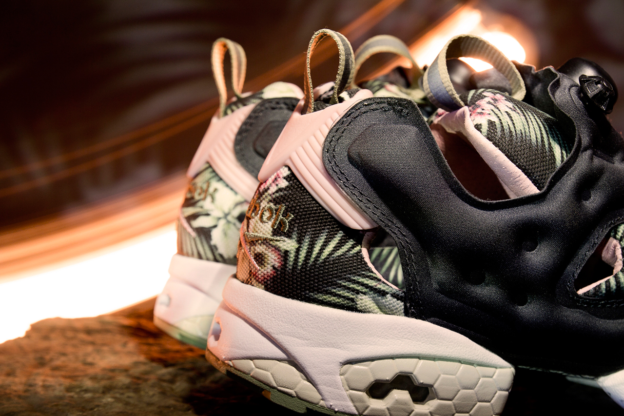 "Image of A Closer Look at the INVINCIBLE x Reebok Instapump Fury 20th Anniversary ""Cattleya"""