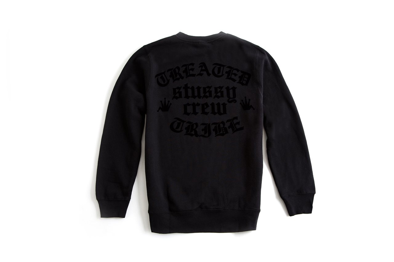 "Image of A Closer Look at the Treated Crew x Saint Alfred x Stussy 2014 ""Treated Tribe"" Collection"