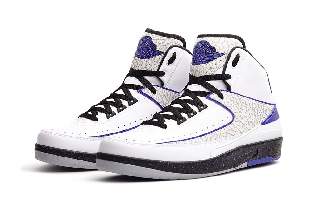 "Image of A First Look at the Air Jordan 2 Retro ""Dark Concord"""