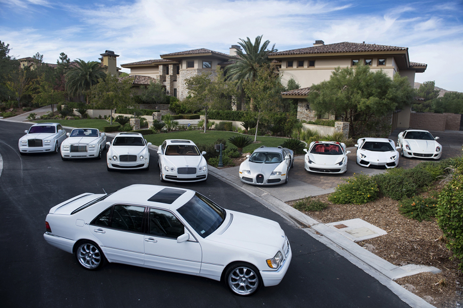Image of A Look Inside Floyd Mayweather's Car Collection