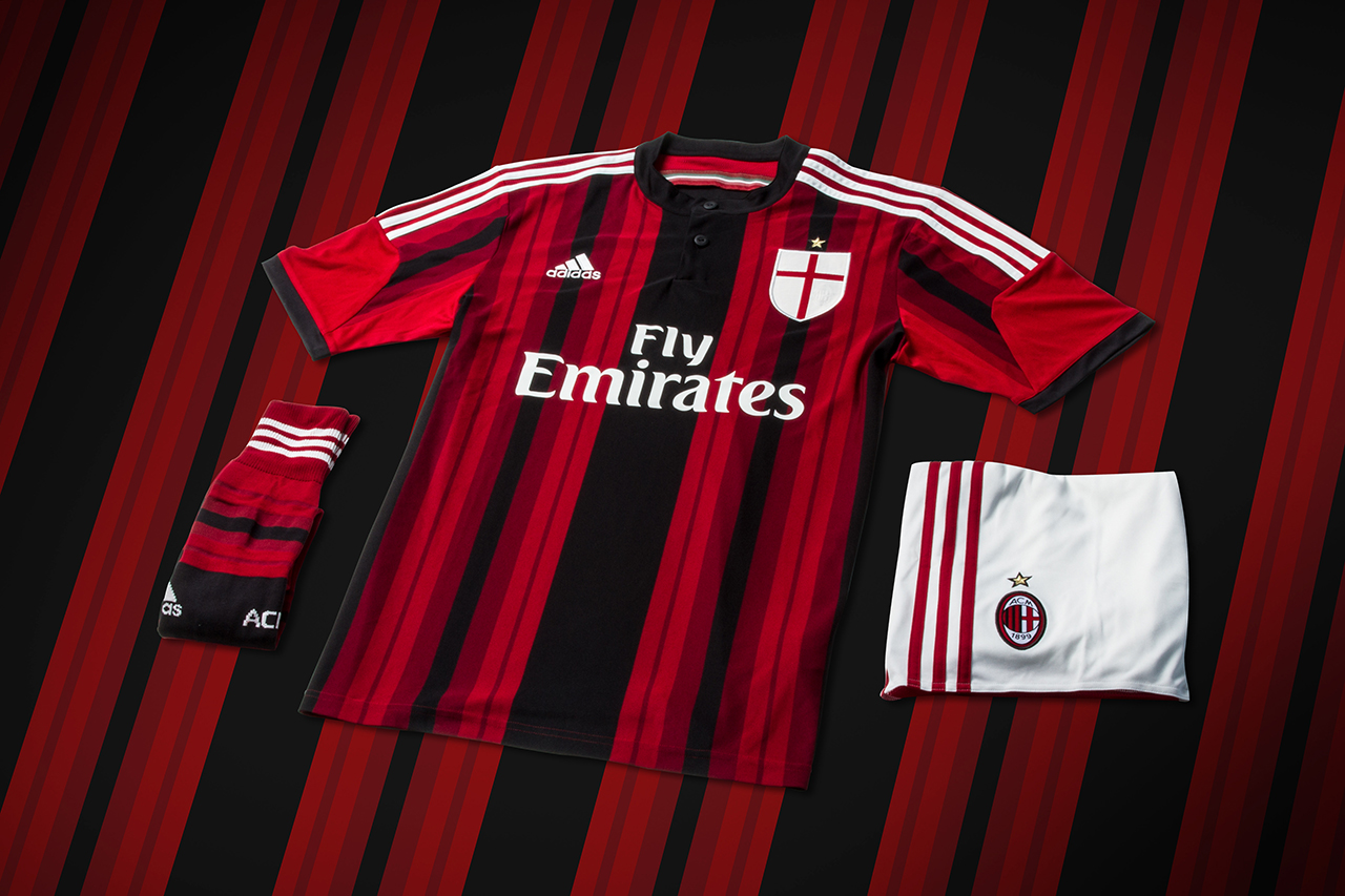 Image of adidas Unveils AC Milan's New 2014/15 Kits