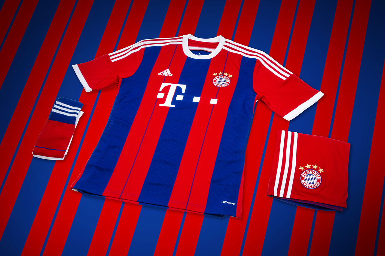 Image of adidas Unveils Bayern Munich's New 2014/15 Kit