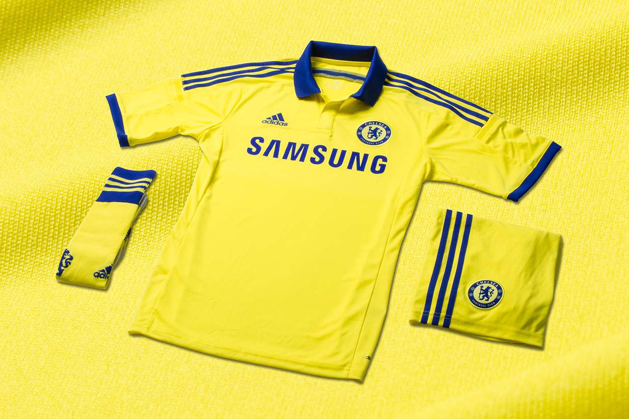 Image of adidas Unveils Chelsea FC's New 2014/15 Away Kit