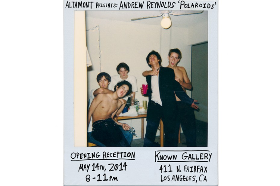 "Image of Altamont Presents: Andrew Reynolds ""Polaroids"""