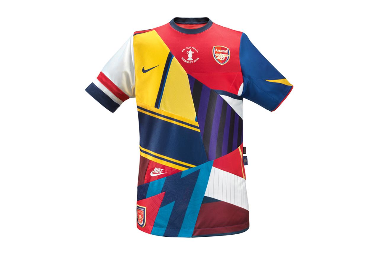 Image of Arsenal and Nike Celebrate 20 Years of Partnership