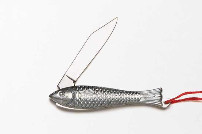 Image of Best Made Co. Silver Fish Pen Knife
