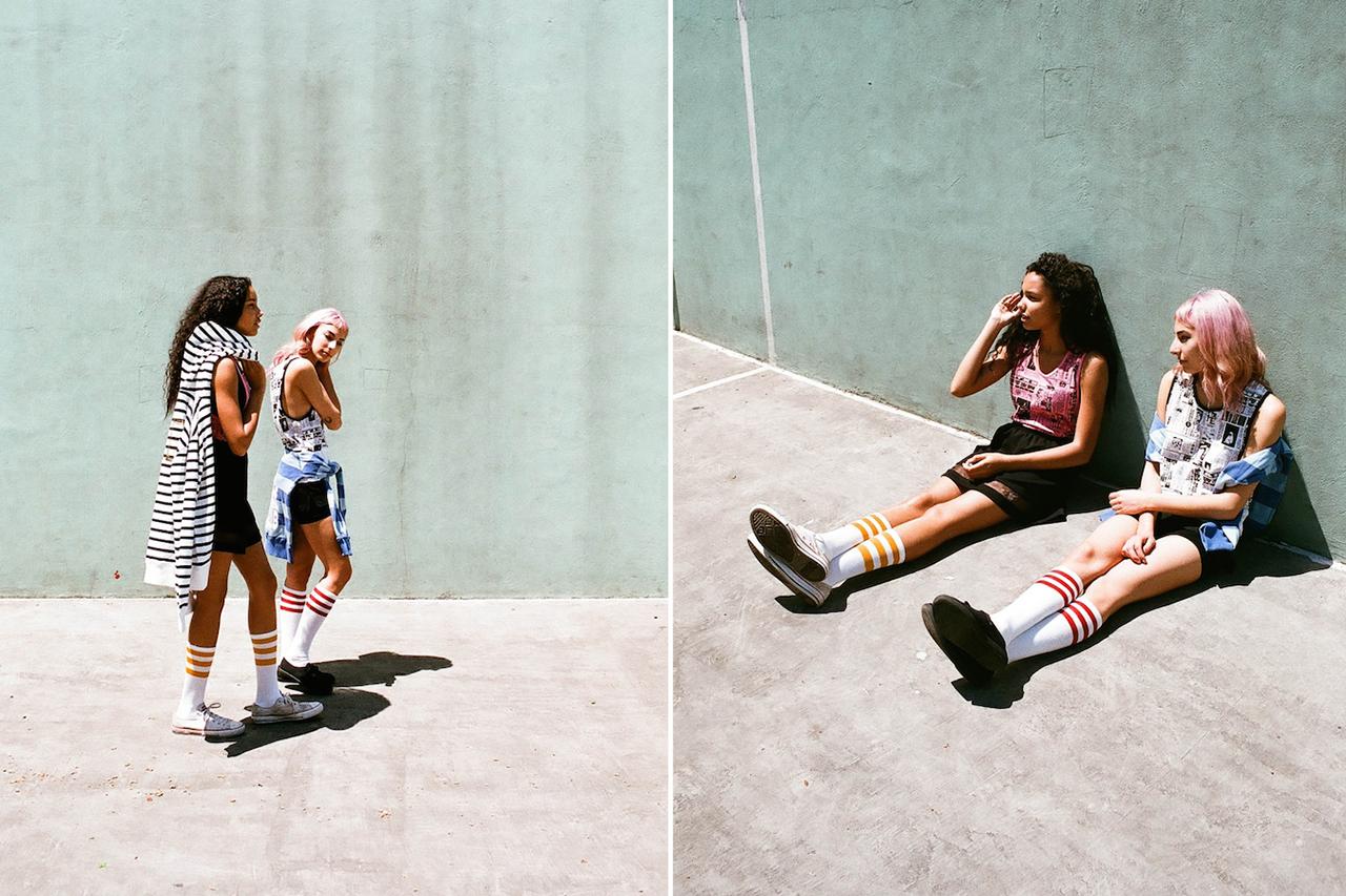 "Image of Billionaire Boys Club Spring/Summer 2014 ""GIRL"" Editorial"