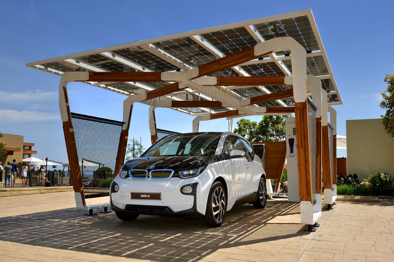 Image of BMW i Solar Carport Concept
