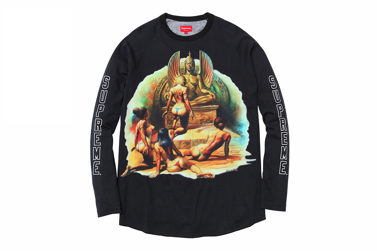 Image of Boris Vallejo x Supreme 2014 Spring/Summer T-Shirts