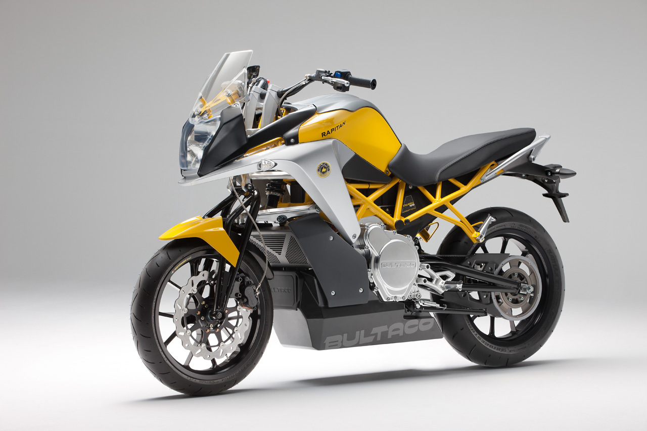 Image of Bultaco Returns with the Rapitán Electric Motorcycle
