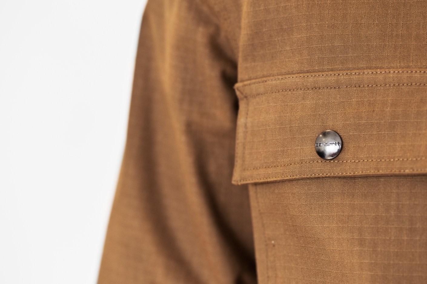 Image of Carhartt WIP 2014 Hamilton Brown Claim Coat