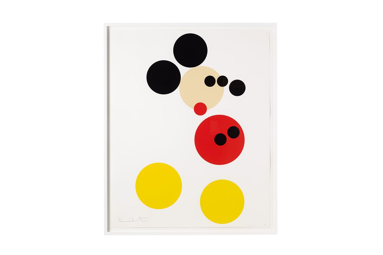 Image of Damien Hirst 'Mickey' Print for Other Criteria