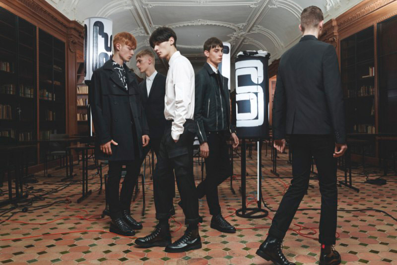 Image of Dior Homme 2014 Fall Lookbook
