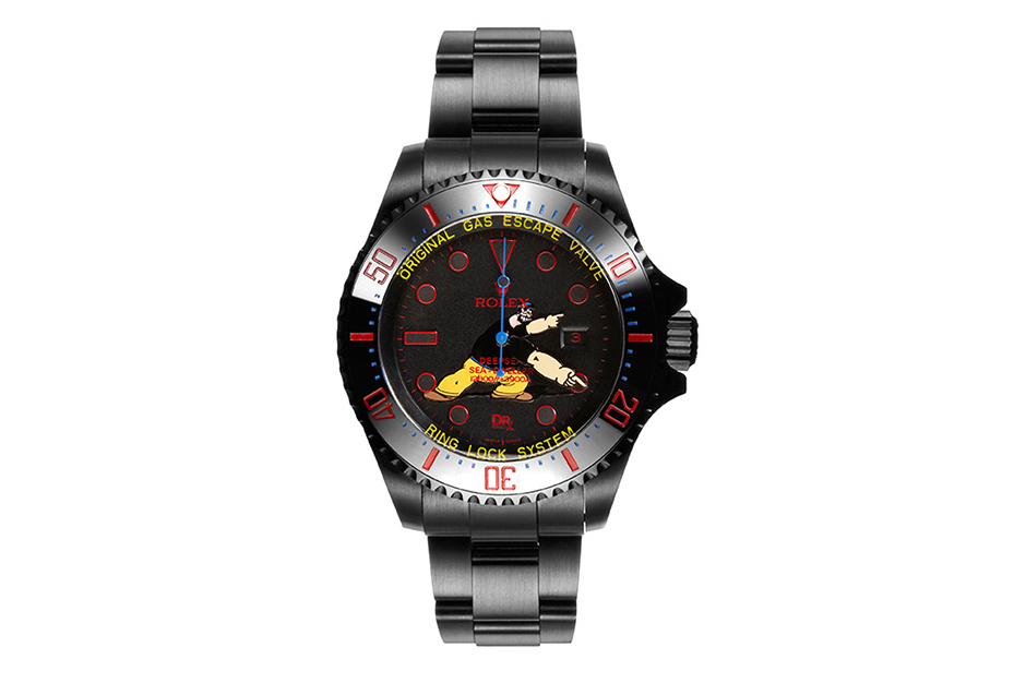 Image of Dr. Romanelli x Bamford Watch Department Brutus Deepsea