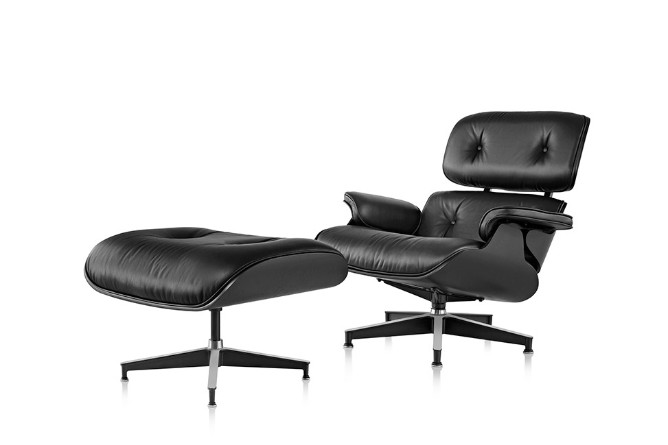 Image of Eames Lounge Chair and Ottoman
