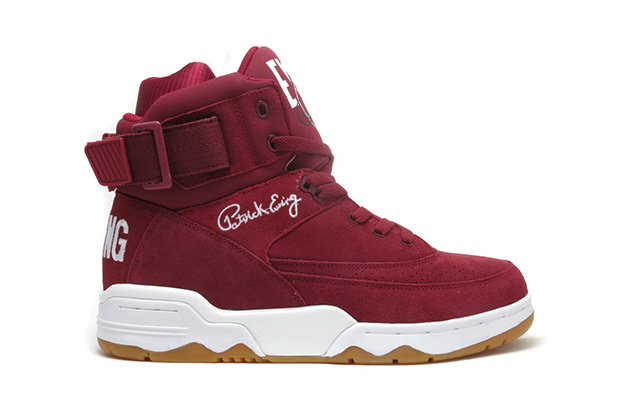 "Image of Ewing Athletics 33 Hi ""Burgundy"""