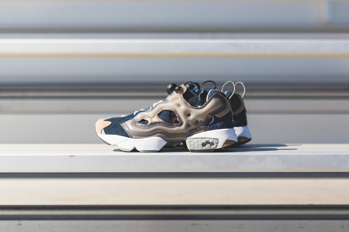 Image of Footpatrol x Reebok Instapump Fury 20th Anniversary