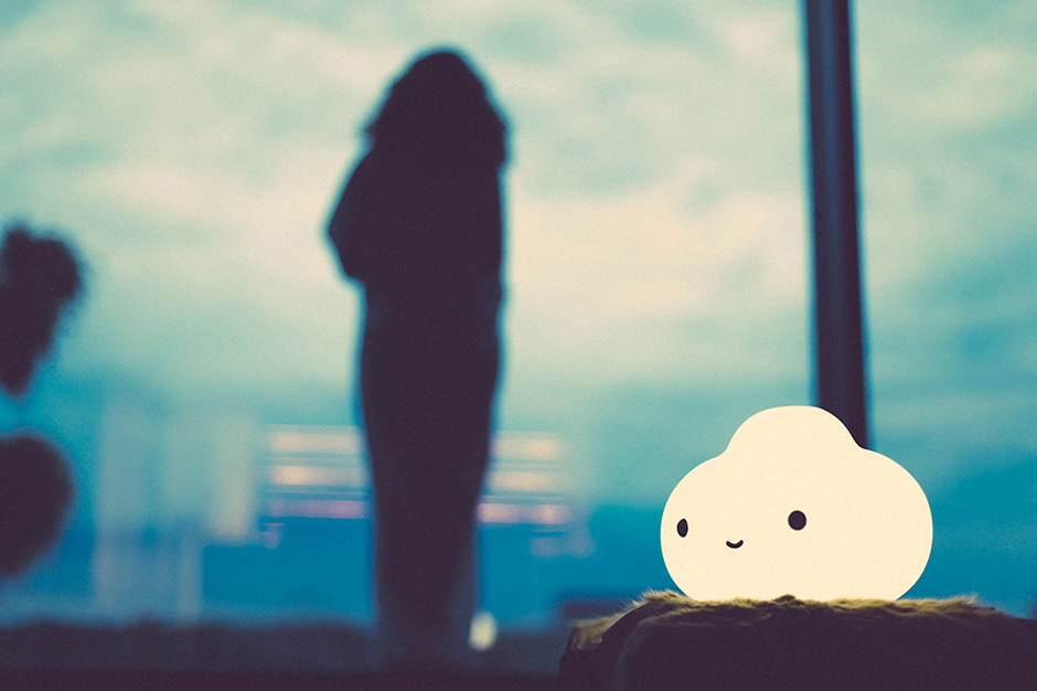"Image of FriendsWithYou x PK SHOP x Case Studyo ""Little Cloud"" Lamp"