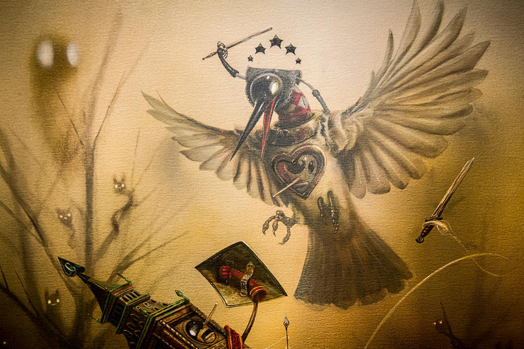 "Image of Greg ""Craola"" Simkins ""Good Knight"" @ Merry Karnowsky Gallery Recap"
