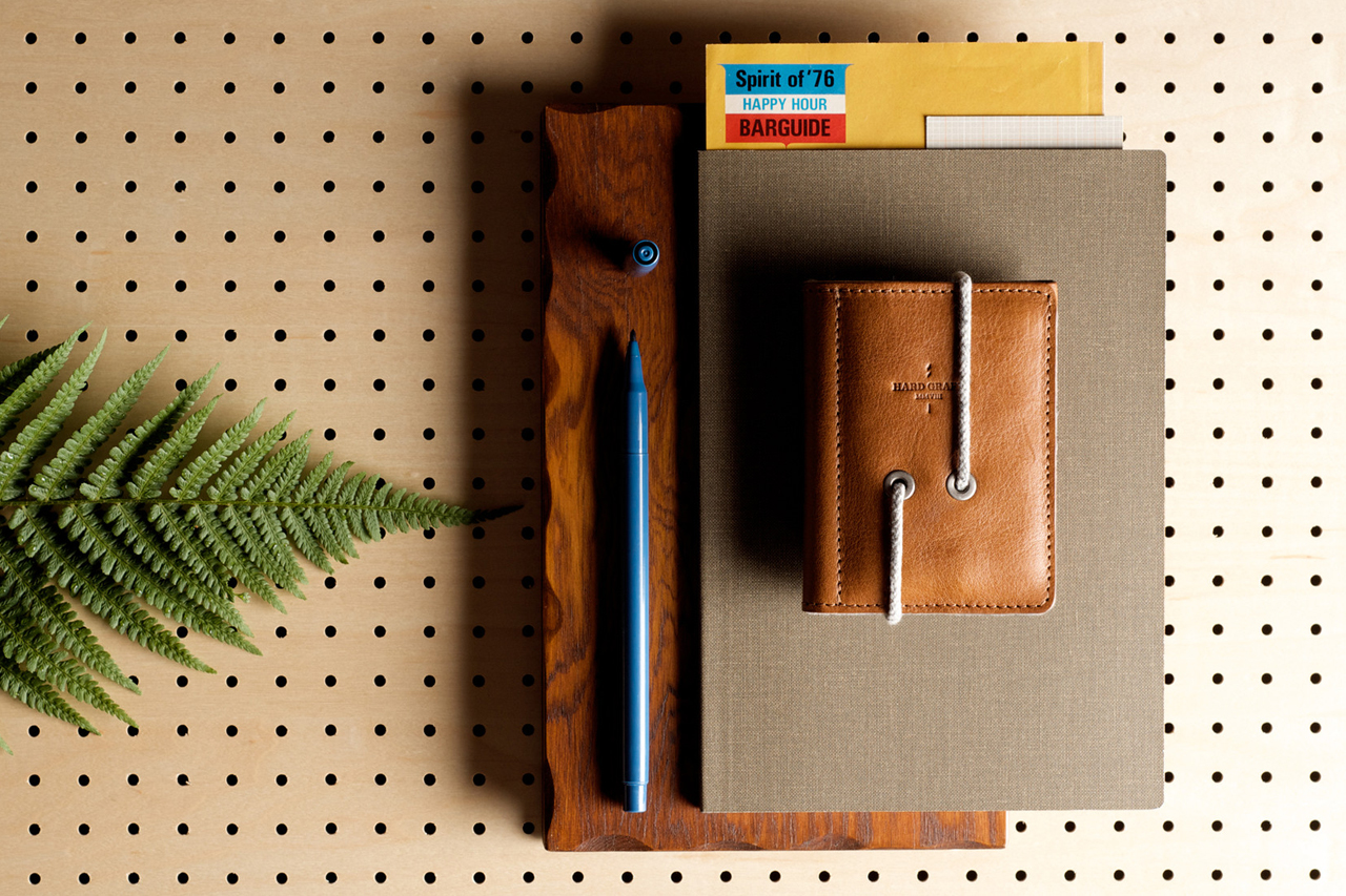 Image of hard graft Leather Credit Card Wallet