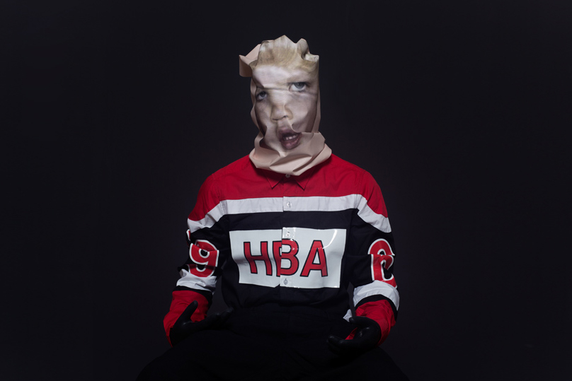 "Image of Hood By Air 2014 Spring/Summer ""MORPHING_HBA"" Editorial"