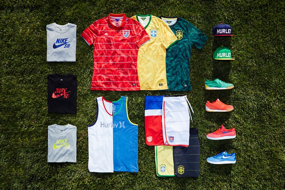 "Image of Hurley for Nike SB ""National Teams"" Collection"