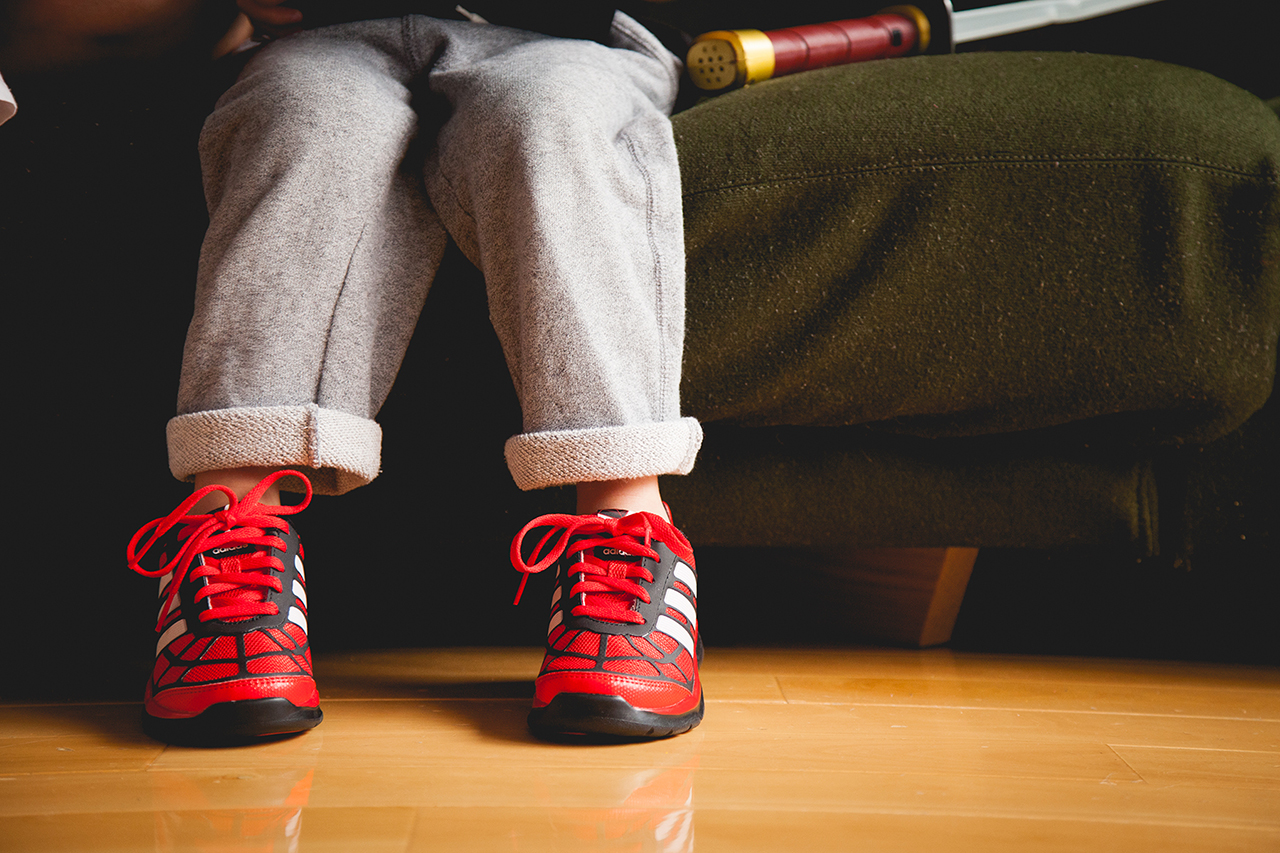 Image of #hypebeastkids: The Amazing Spider-Man Meets adidas