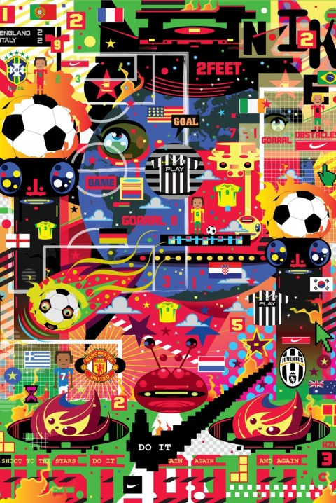 "Image of Nike Hypersense ""The Art & Science of Modern Football"" @ ArtScience Museum Singapore"