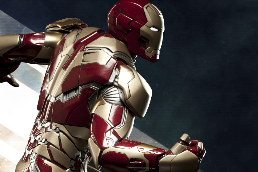 Image of Iron Man Mark 42 Maquette Preview