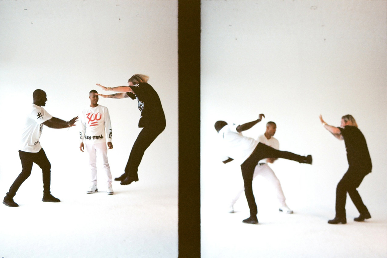 Image of Virgil, Heron and Matthew Feature in Been Trill Editorial for Ravelin Magazine